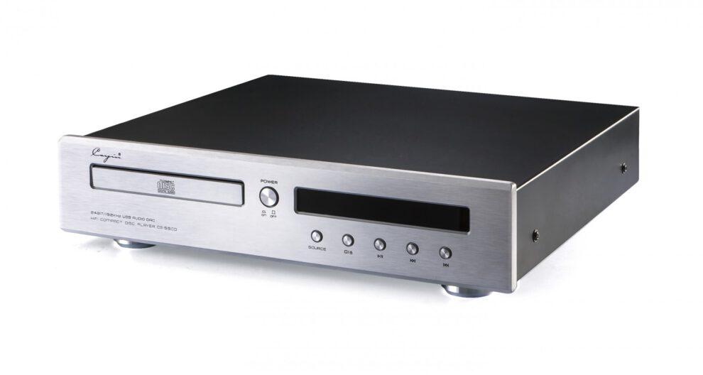 Cayin CD-Player CS-55CD silber