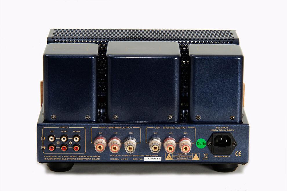 Röhrenverstärker MT-34 Back