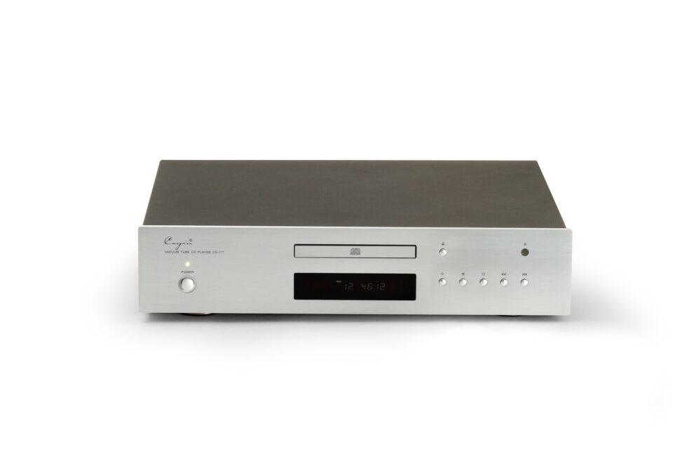 Cayin Röhren CD-Player CD-11T silber Fernbedienung