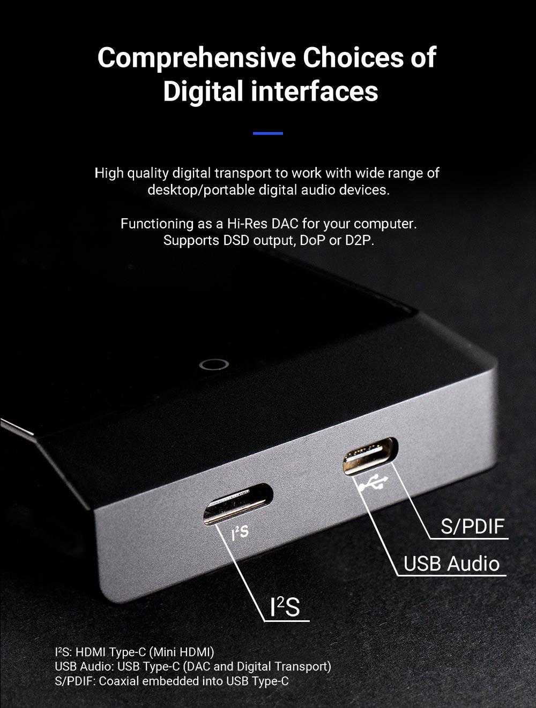 Cayin High Res Player USB Anschluss