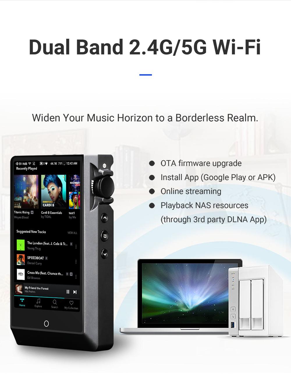 Hi-Res Player Cayin N6ii Wifi 5G