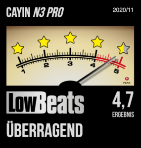 LowBeats Cayin N3-Pro HR-Player_High-Resolution-Bluetooth MP3-Player