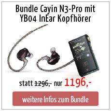 N3-Pro Bundle mit YB04 InEar Kopfhörer Preis günstig Angebot