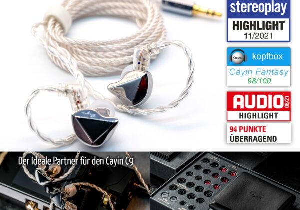 Cayin Fantasy YD01 InEar-Monitor Kopfhörer
